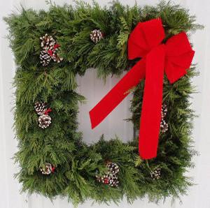 Square Wreath Greener Tomorrows Menahga